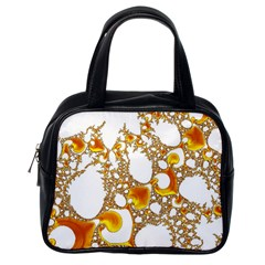 Special Fractal 04 Orange Classic Handbag (one Side) by ImpressiveMoments
