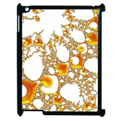Special Fractal 04 Orange Apple Ipad 2 Case (black) by ImpressiveMoments