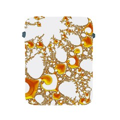 Special Fractal 04 Orange Apple Ipad Protective Sleeve by ImpressiveMoments