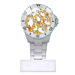 Special Fractal 04 Orange Nurses Watch by ImpressiveMoments