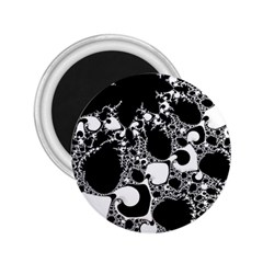 Special Fractal 04 B&w 2 25  Button Magnet by ImpressiveMoments