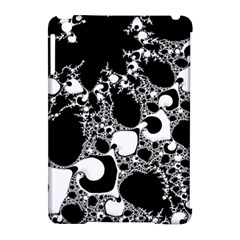 Special Fractal 04 B&w Apple Ipad Mini Hardshell Case (compatible With Smart Cover) by ImpressiveMoments