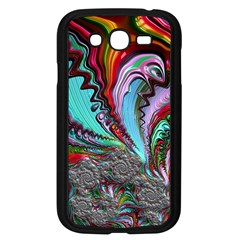 Special Fractal 02 Red Samsung Galaxy Grand Duos I9082 Case (black)