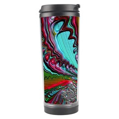 Special Fractal 02 Red Travel Tumbler