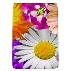 Lovely Flowers,purple Removable Flap Cover (small)