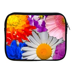 Lovely Flowers, Blue Apple Ipad Zippered Sleeve by ImpressiveMoments