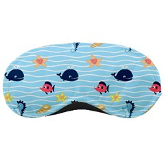 Fun Fish Of The Ocean Sleeping Mask by StuffOrSomething