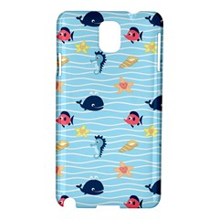 Fun Fish Of The Ocean Samsung Galaxy Note 3 N9005 Hardshell Case by StuffOrSomething