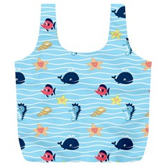 Fun Fish Of The Ocean Reusable Bag (xl) by StuffOrSomething