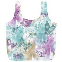 Joy Butterflies Reusable Bag (xl) by zenandchic