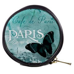 Paris Butterfly Mini Makeup Case by zenandchic