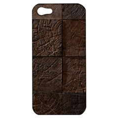Wood Mosaic Apple Iphone 5 Hardshell Case