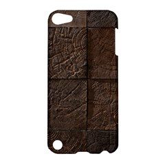 Wood Mosaic Apple Ipod Touch 5 Hardshell Case by chivieridesigns