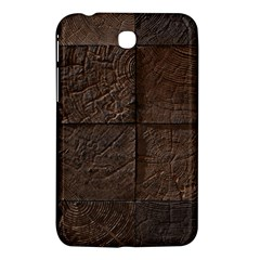Wood Mosaic Samsung Galaxy Tab 3 (7 ) P3200 Hardshell Case  by chivieridesigns