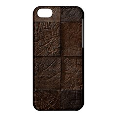 Wood Mosaic Apple Iphone 5c Hardshell Case by chivieridesigns