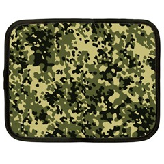 Camouflage Netbook Sleeve (xxl) by chivieridesigns