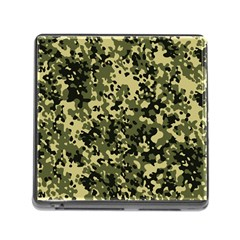 Camouflage Memory Card Reader With Storage (square) by chivieridesigns
