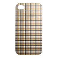 Plaid 4 Apple Iphone 4/4s Premium Hardshell Case by chivieridesigns