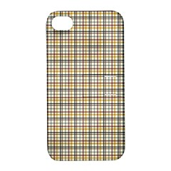 Plaid 4 Apple Iphone 4/4s Hardshell Case With Stand