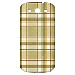 Plaid 9 Samsung Galaxy S3 S Iii Classic Hardshell Back Case by chivieridesigns