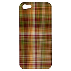 Plaid 2 Apple Iphone 5 Hardshell Case by chivieridesigns