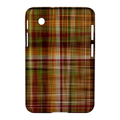 Plaid 2 Samsung Galaxy Tab 2 (7 ) P3100 Hardshell Case  by chivieridesigns