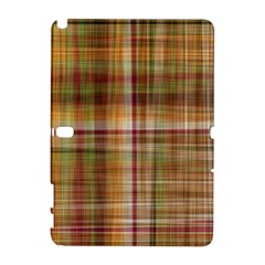 Plaid 2 Samsung Galaxy Note 10 1 (p600) Hardshell Case by chivieridesigns