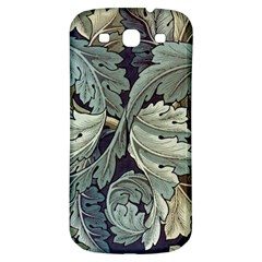 William Morris Samsung Galaxy S3 S Iii Classic Hardshell Back Case by chivieridesigns