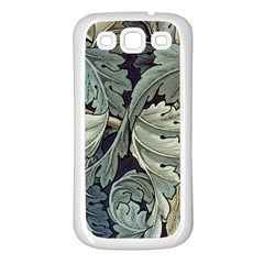 William Morris Samsung Galaxy S3 Back Case (white) by chivieridesigns