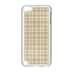 Plaid 7 Apple Ipod Touch 5 Case (white) by chivieridesigns