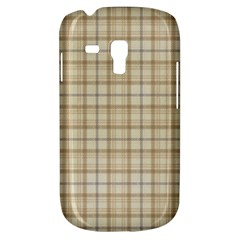 Plaid 7 Samsung Galaxy S3 Mini I8190 Hardshell Case by chivieridesigns