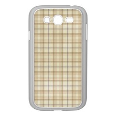 Plaid 7 Samsung Galaxy Grand Duos I9082 Case (white) by chivieridesigns