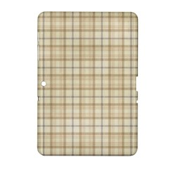 Plaid 7 Samsung Galaxy Tab 2 (10 1 ) P5100 Hardshell Case  by chivieridesigns