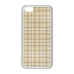 Plaid 7 Apple Iphone 5c Seamless Case (white) by chivieridesigns