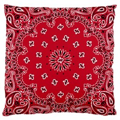 Bandana Large Cushion Case (single Sided)  by chivieridesigns