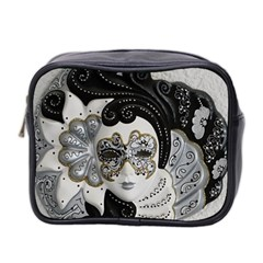Venetian Mask Mini Travel Toiletry Bag (two Sides) by StuffOrSomething