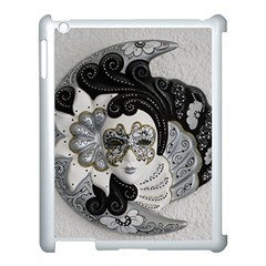 Venetian Mask Apple Ipad 3/4 Case (white) by StuffOrSomething