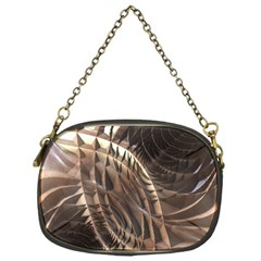 Copper Metallic Chain Purse (one Side)