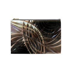 Copper Metallic Cosmetic Bag (medium)