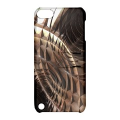 Copper Metallic Apple Ipod Touch 5 Hardshell Case With Stand by CrypticFragmentsDesign