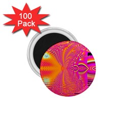 Magenta Boardwalk Carnival, Abstract Ocean Shimmer 1 75  Button Magnet (100 Pack) by DianeClancy