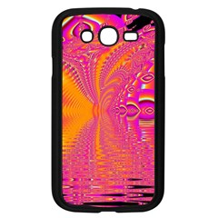 Magenta Boardwalk Carnival, Abstract Ocean Shimmer Samsung Galaxy Grand Duos I9082 Case (black) by DianeClancy