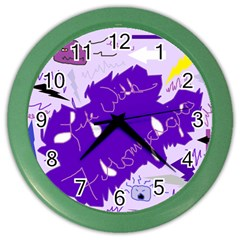Life With Fibro2 Wall Clock (color) by FunWithFibro
