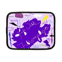 Life With Fibro2 Netbook Sleeve (small) by FunWithFibro