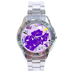 Life With Fibro2 Stainless Steel Watch by FunWithFibro