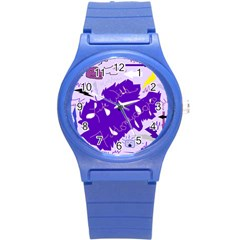 Life With Fibro2 Plastic Sport Watch (small) by FunWithFibro
