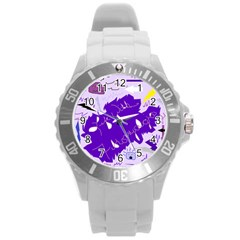 Life With Fibro2 Plastic Sport Watch (large) by FunWithFibro