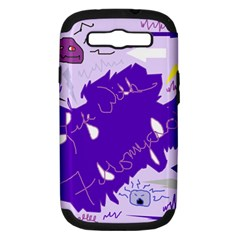 Life With Fibro2 Samsung Galaxy S Iii Hardshell Case (pc+silicone) by FunWithFibro