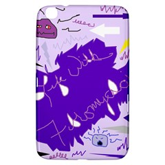 Life With Fibro2 Samsung Galaxy Tab 3 (8 ) T3100 Hardshell Case  by FunWithFibro