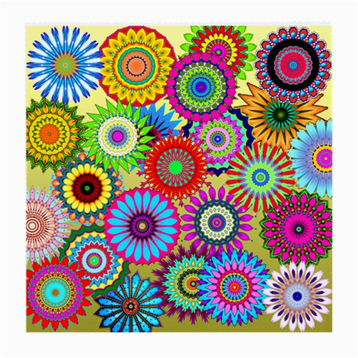 Psychedelic Flowers Glasses Cloth (Medium)